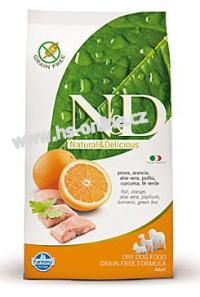 N&D GF DOG Adult Mini Fish & Orange 2,5kg