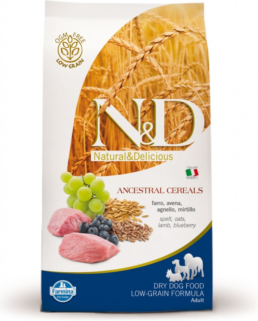 N&D LG DOG Adult Mini Lamb & Blueberry 7kg